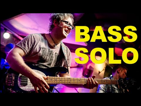 Lars Lehmann - Finger & Slap Bass Solo on Music Man Stingray Bass